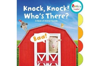 Knock, Knock! Who's There?: A Book of Animal Sounds (Rookie Toddler) (Rookie Toddler) [Board book]