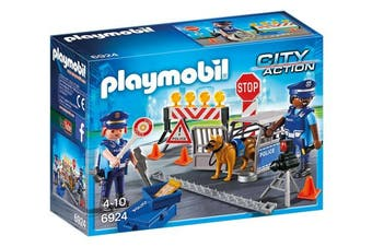 Playmobil 6924 Police Roadblock