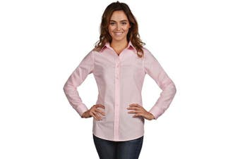 (Medium, Mid Pink) - Antigua Women's Dynasty Shirt
