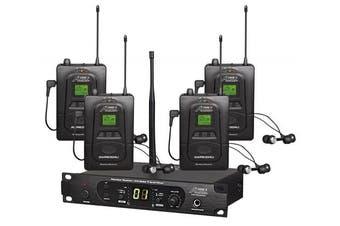Audio2000'S AWM6306U In-Ear Monitor System