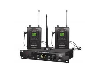 Audio2000'S AWM6305U In-Ear Audio Monitor System