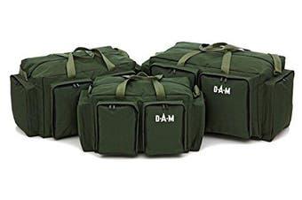 (Medium) - DAM Carp Carryall Barrow bag 4 Pockets Fishing Medium Large Or Extra Large