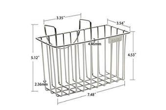 Kitchen Sink Caddy, Aiduy Stainless Steel Brush Sponge Rack, Soap Dishwashing Liquid Drainer Holder Kitchen Tool