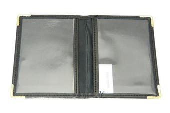 Soft Black Colour Bus Pass / Oyster / Travel Card Holder