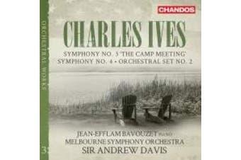 Charles Ives: Symphonies, Vol. 3