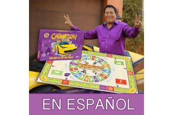 CASHFLOW in SPANISH - Rich Dad Investing Board Game by Robert Kiyosaki - Newest Original Edition of CASHFLOW 101