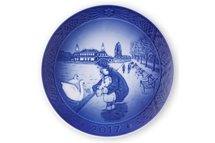 Royal Copenhagen Christmas plate 2017