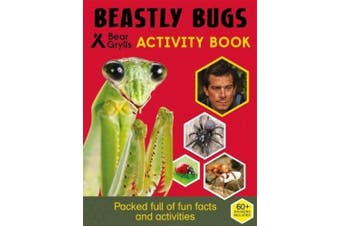 Bear Grylls Sticker Activity: Beastly Bugs