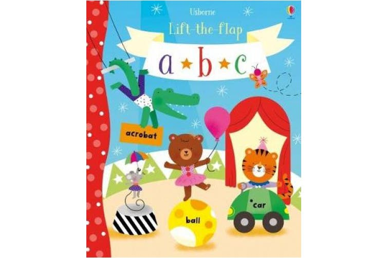 Lift-the-Flap abc (Lift-the-Flap) [Board book]