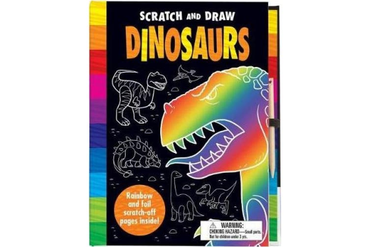 Scratch and Draw Dinosaurs (Scratch and Draw)