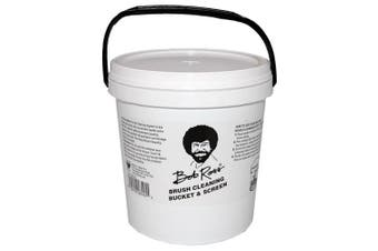 Bob Ross R6545 Brush Cleaning Bucket And Screen