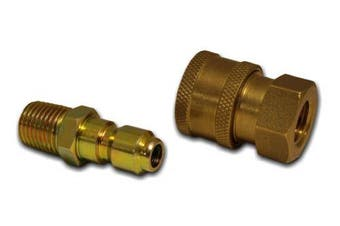 Apache 250040200cm Quick Disconnect Pressure Washer Adapter Set