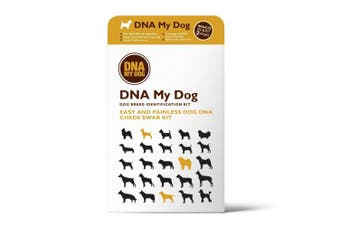 Dna My Dog - Canine Breed Identification Test Kit - At-home Cheek Swab Kit - New
