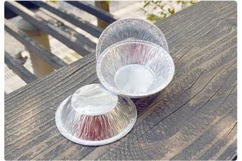 Moldiy Disposable 7.6cm Aluminium Foil Tart/pie Pans Mould(250 Pcs)