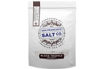 Italian Black Truffle Salt 150ml Pouch