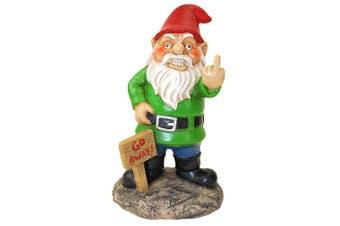 Bigmouth Inc Go Away Garden Gnome