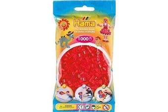 (Red) - Red 1000 Bead Bag