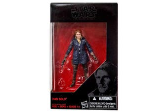 Star Wars 2016 The Black Series, Han Solo Starkiller Base (The Force Awakens) Exclusive Action Figure, 9.5cm