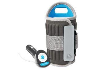 Munchkin Travel Bottle Warmer, Grey, New,  .