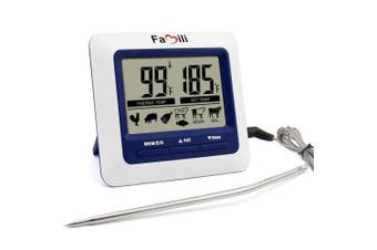 Famili Mt004 Digital Kitchen Food Meat Cooking Electronic Thermometer Probe