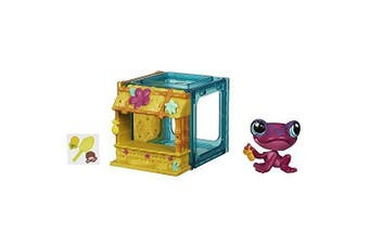 Littlest Pet Shop Mini Style Set With Frog Figure