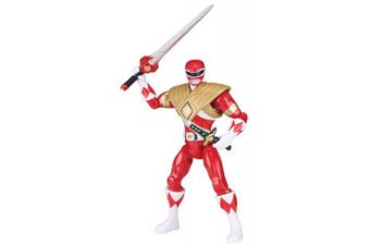 Power Rangers Legacy Mighty Morphin 13cm Armoured Red Ranger Action Figure