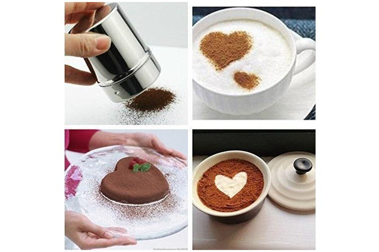 Honbay Stainless Steel Chocolate Shaker Icing Sugar Powder Cocoa Flour Coffee...