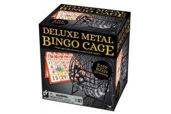 Deluxe Wire Cage Bingo Set (styles Will Vary) New