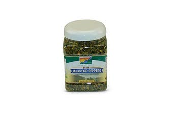Mother Earth Products Dried Jalapeno Peppers, 1 Full Quart