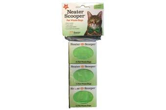 Neater Pet Brands 360-200-hd3 Scooper Refill Bags, Green