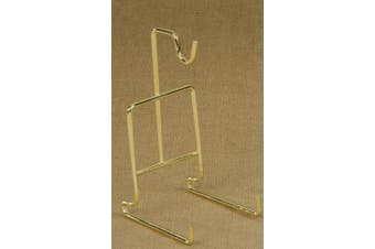 Tripar Standard Smooth Wire Cup and Saucer Stand (Brass)
