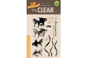 (Color Layering Goldfish) - Hero Arts Clear Stamps 10cm x 15cm