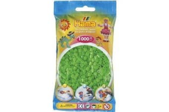 Flourescent Green 1000 Bead Bag