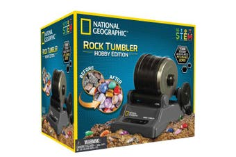 National Geographic Hobby Rock Tumbler Kit New