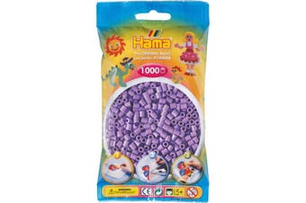 (Purple) - Pastel Purple 1000 Bead Bag