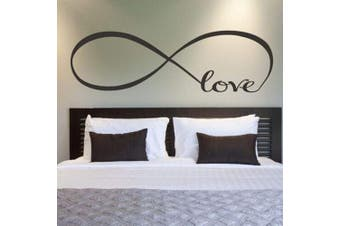 Wall Stickers, Franterd Bedroom Decor Infinity Symbol Word Love Vinyl Art Decal
