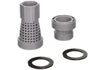 Game 4k8001 Long Short Sand Filter Adaptor Kit (for Intex & Bestway Pools), New,