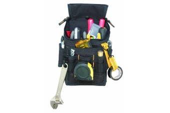 (11 POCKET) - CLC Custom Leathercraft 1524 Ziptop Utility Pouch, Medium