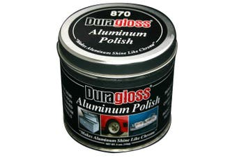 Duragloss 870 Cotton Wadding Aluminium Polish - 150ml