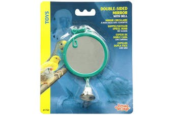 Living World Double-sided Mirror With Bell, New,  .