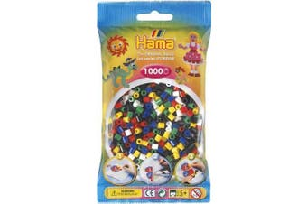 Mixed 6 Primary 1000 Bead Bag