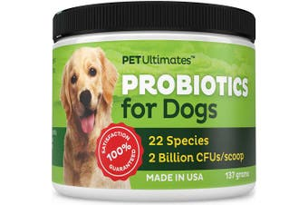 Pet Ultimates Probiotics For Dogs, 137 Grammes, New,  .