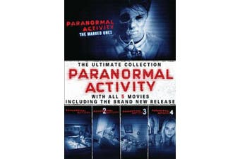 Paranormal Activity: 5 Movie Collection New Dvd