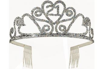 Forum Novelties 21st Birthday Glitter Tiara