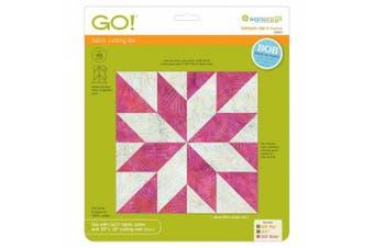 Go! Fabric Cutting Dies-lemoyne Star 23cm Finished Square 699195554537