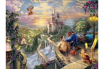 Thomas Kinkade The Disney Dreams Collection: Beauty and The Beast Falling in Love Puzzle, 750 Pieces, 60cm X 46cm