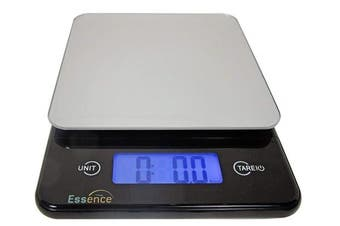 Essence Digital Kitchen And Food Scale, Silver And Blue - No-hassle Replacement