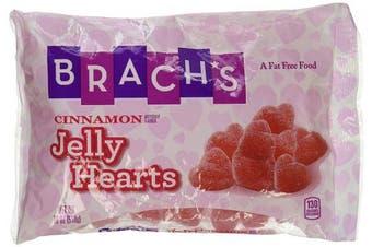 Brach's Cinnamon Jelly Hearts 350ml Bag