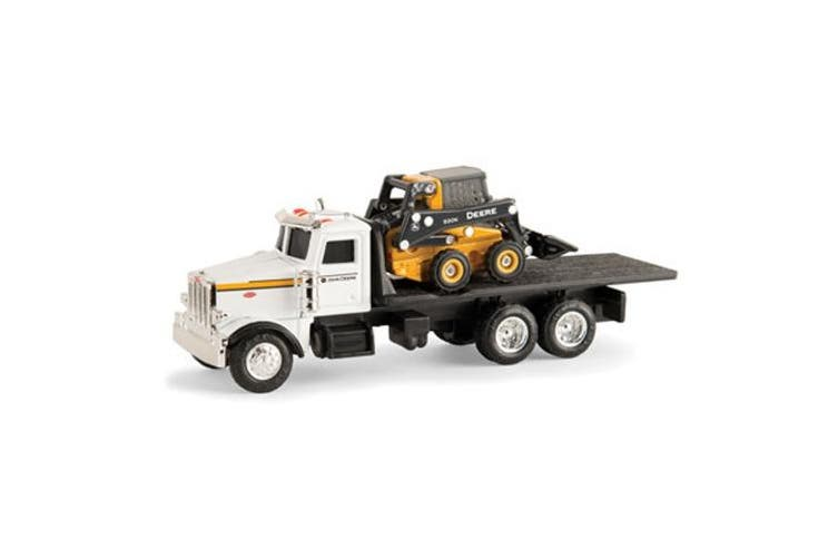 John Deere 1/64 Scale 320e Skid Steer With Truck 45474 N/a