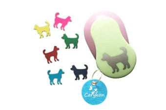 Caryko 2.5cm Clever Lever Craft Punch Paper Cutting Shape Dog Comfortable New